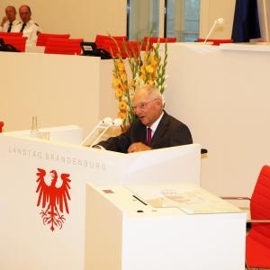 Dr. Schäuble bei der Festrede auf Jörg Schönbohm