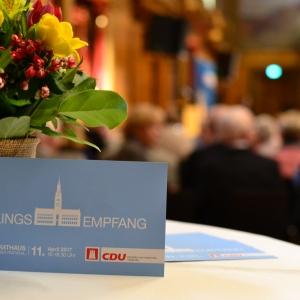 Frühlingsempfang der CDU-Bürgerschaftsfraktion Hamburg.