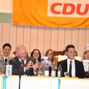 Jahresempfang des Abgeordneten Manuel Hagel MdL in Öpfingen.