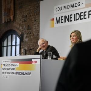 """CDU im Dialog zum Thema """"verlässlicher Staat"""""""