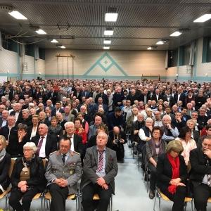 Zuhörer beim Jahresempfang des Abgeordneten Manuel Hagel MdL in Öpfingen.