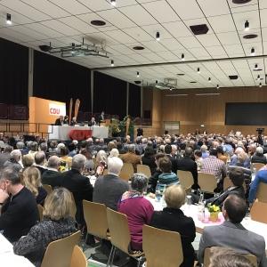 Politischer Aschermittwoch der CDU Karlsruhe-Land