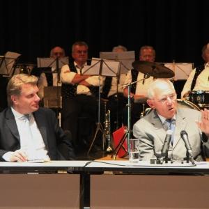 Mit MdB Thomas Bareiß bei einer Veranstaltung in Bad Saulgau