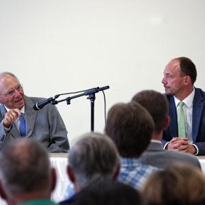 Dr. Schäuble mit Marco Wanderwitz MdB