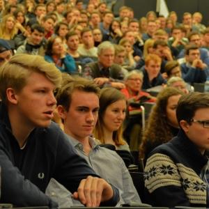 Zuhörer in Freiburg